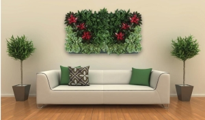 Portrait Living Wall 48x48 double