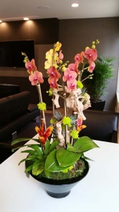 Residential-Interior-Plants-Fresh-Flowers-Orchids-Succulents