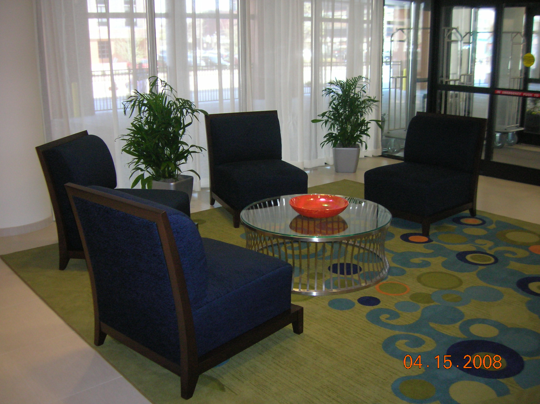 Hotel Lobby - Bamboo Palms - Plantopia - Interior Plant Service - Louisville