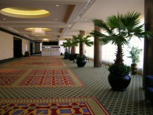 Replica Palm Trees with Pothos - Plantopia - Interior Plant Service - Louisville